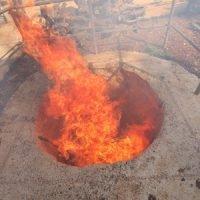 passover 2017 blazing firepit